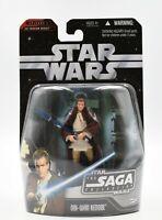 Star Wars The Saga Collection #47 Obi-Wan Kenobi (Battle at Theed) Action Figure