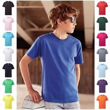 Boy Patternless T-Shirts (2-16 Years) for Girls