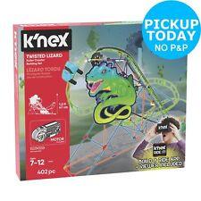 K'NEX 403 Part Twisted Lizard Roller Coaster Building Set.