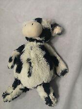 Jellycat BASHFUL Calf Cow Large Plush Black White Soft Toy 31 cm