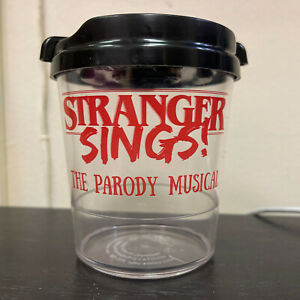 """STRANGER THINGS Parody Musical SIPPY CUP Plastic! """"STRANGER SINGS"""" Off-Broadway!"""