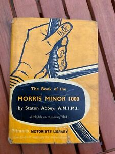 The Book Of The Morris Minor 1000 By Staton Abbey Hardback