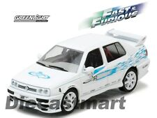 "JESSE'S 1995 VOLKSWAGEN JETTA A3 ""THE FAST & THE FURIOUS"" 1:43 GREENLIGHT 86234"