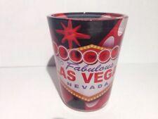 Shot Glass Las Vegas Nevada Black, Red & White Standard Shot Glass