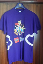 Official LEGO Store PROMO LAUNCH T Shirt LARGE FRIENDS PURPLE BNWOT 100% COTTON