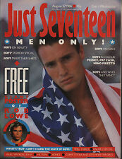 Just Seventeen Magazine 27 August 1986   Prince    Nino Firetto    Pat Cash