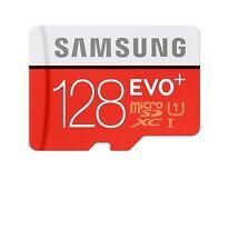 128 GB Samsung EVO Tarjeta de memoria Micro SD XC Plus clase 10 grado U1 - 4K + 80MB/s