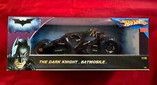 Hot Wheels 1:18 Batman The Dark Knight Batmobile Tumbler 100% Sealed Mattel 2008
