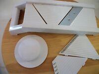 Crofton Mandoline slicer for veggies, fruit, cheese etc.