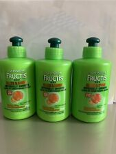 3 Garnier Fructis Sleek & Shine Intensely Smooth Conditioning Cream 10.2 oz