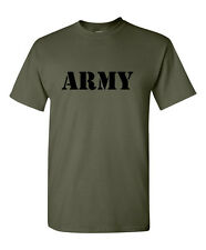 ARMY NAVY USAF Air Force USMC Marines T-shirt Military T shirt US Army Birthday
