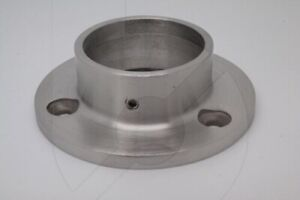 Stainless steel wall flange for 42.4mm handrail