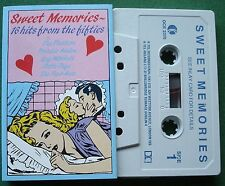 Sweet Memories Fifties Hits Frankie Avalon Crew Cuts + Cassette Tape - TESTED