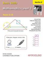 Basic Skills Maths Level 3 Yrs 5 - 8