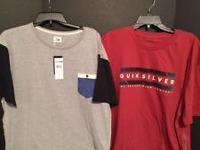 NEW Quiksilver Lot of 2 XL Extra Large The Boarding Company NWT $46
