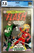 Flash #168; March 1967; Silver Age; CGC 7.5; Green Lantern Crossover.