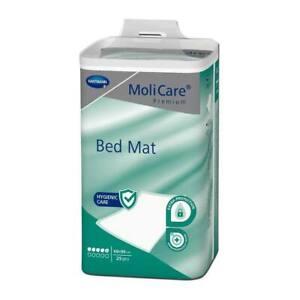 MoliCare Premium Bed Mat 5 Tropfen 60 x 90 cm, 25St, Bettunterlagen EInlagen
