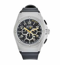 TW Steel Men's Chronograph Tachymeter Renault Date Stainless Watch (TW681)