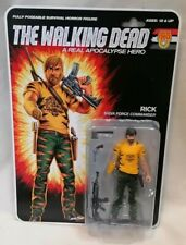 THE WALKING DEAD - *New MOC* The Walking Dead Rick Lucille Patrol Action Figure