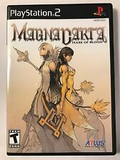 Magna Carta Tears of Blood - Playstation 2 - Replacement Case - No Game