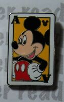 Disney Pin DLR Hidden Mickey 2014 Deck of Cards Mickey Mouse