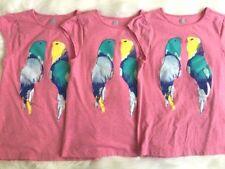 Crazy 8 by Gymboree parrot top size 10-12 14