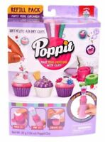 Poppit Soft'N'Lite Air Dry Mini Cupcakes Clay Refill - NIP