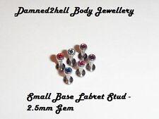 Titanium 16g (1.2 mm) Bars & Barbell Body Piercing Jewellery