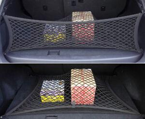 For Jeep Grand Cherokee Black Rear Trunk Cargo Net Double Mesh Storage Organizer