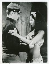 AVA ZAMORA GUY STOCKWELL PROFILE BEAU GESTE ORIGINAL 1969 NBC TV PHOTO