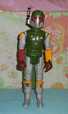 """vintage Star Wars large-size (12"""") BOBA FETT WITH CAPE ONLY doll action figure"""
