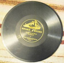 Rare Monarch 78 Rpm 1 Sided Record # 7 , The Boy And The Cheese ,FREE SHIPPING