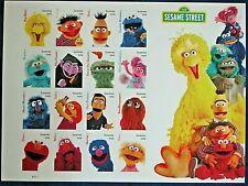 US #5394  Sesame Street - Forever Stamp - Mint Sheet of 16 - Oscar Grover Ernie