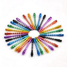 6 PCs Aluminum Darts 2ba Shafts 6 Colors Medium Harrows Dart Stems Throwing