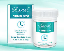 38g Numb520 5% Lidocaine Topical Anesthetic Tattoo Wax Liposomal Numbing Cream