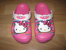 NEU Mädchen Crocs Clogs Schuhe, Gr. 30/31, rosa, Hello Kitty