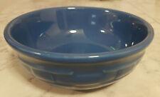 Authentic Longaberger Cornflower Blue Soup Salad Cereal Bowl