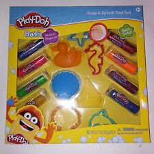 Play Doh Soap & Splash Tool Set Mold and Shape Cutters Bath Time Fun Kids Toys