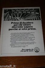 AL18=1972=PSI PARTITO SOCIALISTA ITALIANO=PUBBLICITA'=ADVERTISING=WERBUNG=