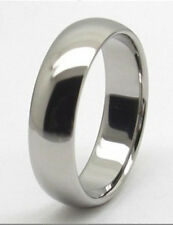 Women's 8mm Titanium comfort fit ring size 9.5 Wedding Band!
