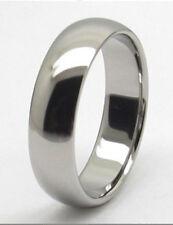 Men 6mm Titanium comfort fit ring size 9.5 Wedding Band!