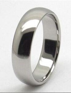 Men 8mm Titanium comfort fit ring size 11 Wedding Band!
