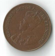 1922 CANADA PENNY CENT HIGH DETAIL NICE PATINA RARE  KEY DATE