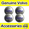 4x Genuine VOLVO Alloy Wheel Centre Hub Cap S40 V50 C70 S60 V70  S80 XC90 Center