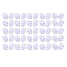 25 paia occhiali Pressione in 9 millimetri rotonda di naselli in silicone p A1I5