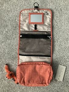 Kipling Hanging Travel Toiletry Bag Foldable