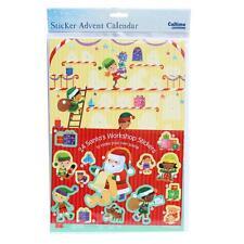 Christmas Countdown Sticker Advent Calendar - 24 Windows - 394607 Santa