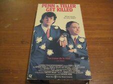 Penn and Teller Get Killed vhs