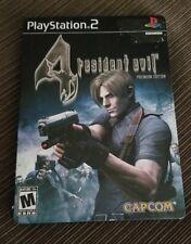 Resident Evil 4: Premium Edition (Sony PlayStation 2, 2005) Steelbook