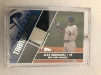 2004 Topps Traded Alex Rodriguez Transaction Pin Stripe Jersey  Piece